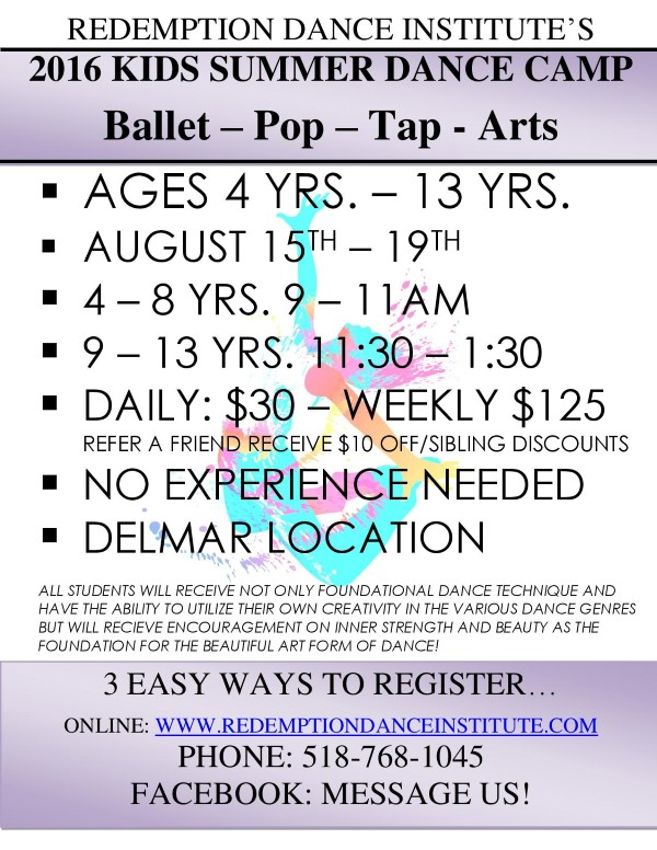 Dance Camps in Albany